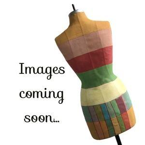 Ann Taylor LOFT Womens Striped Long Sleeve Dress